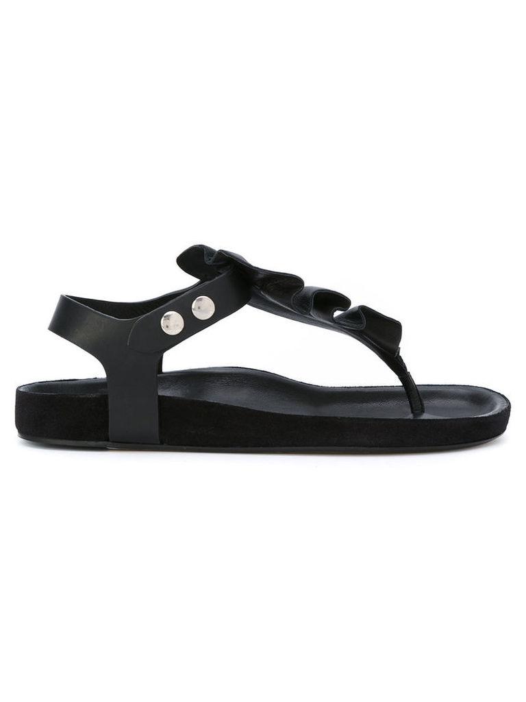 Isabel Marant Leakey sandals, Women's, Size: 37, Black