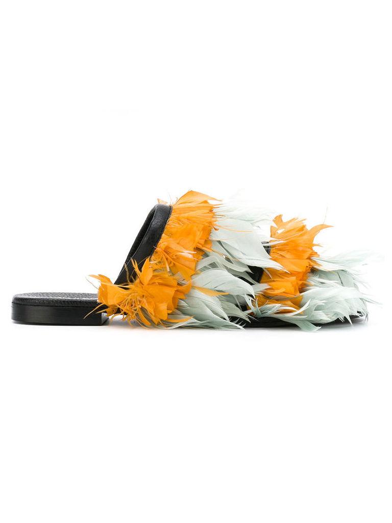 Avec Modération Scarpa sandals, Women's, Size: 40, Yellow/Orange