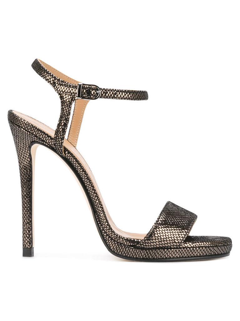 Marc Ellis buckled stiletto sandals, Women's, Size: 38, Black