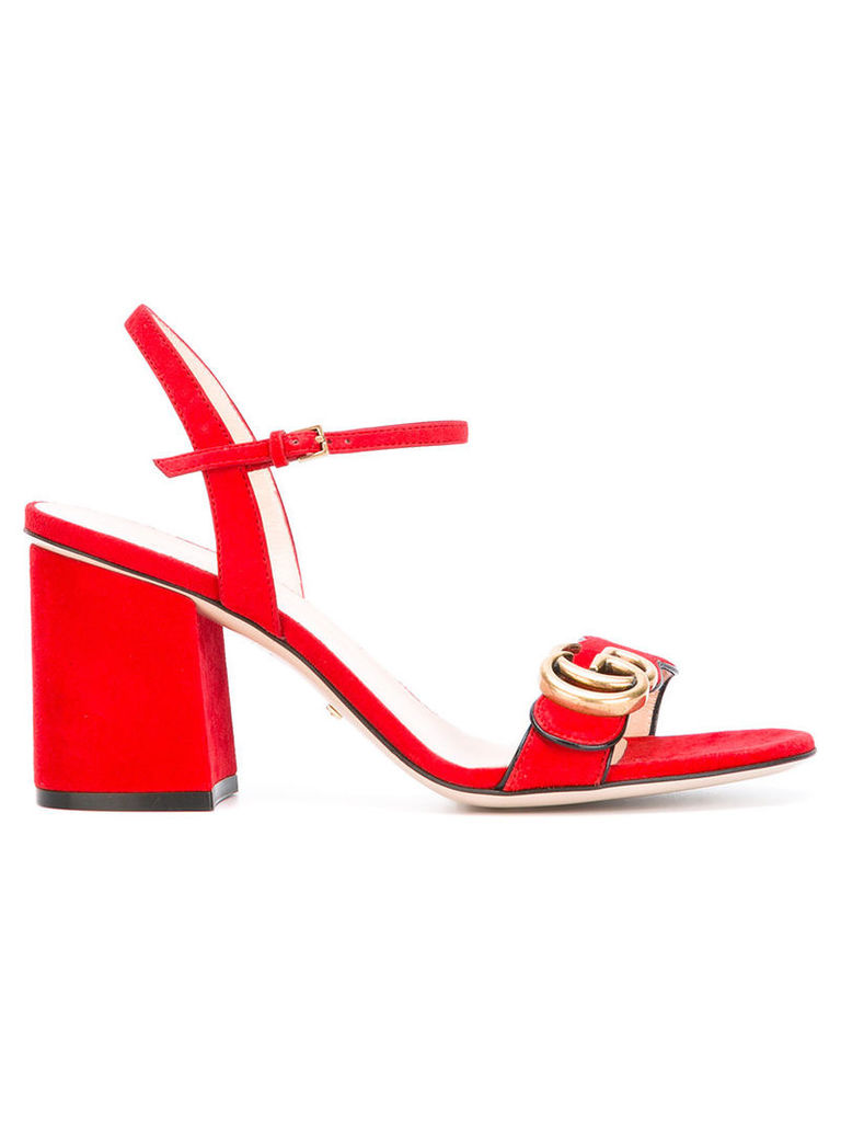 Gucci GG logo sandals, Women's, Size: 38, Red