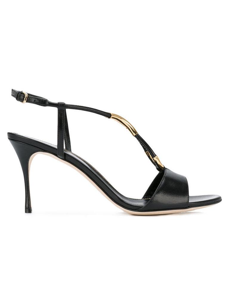 Sergio Rossi open toe sandals, Women's, Size: 37, Black
