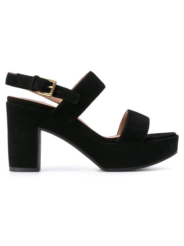 L'Autre Chose strapped sandals, Women's, Size: 38, Black