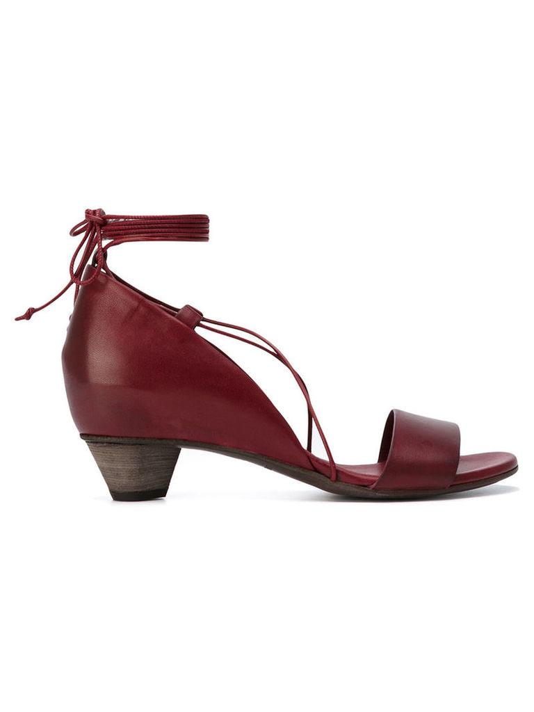 Roberto Del Carlo Oil sandals, Women's, Size: 40, Red