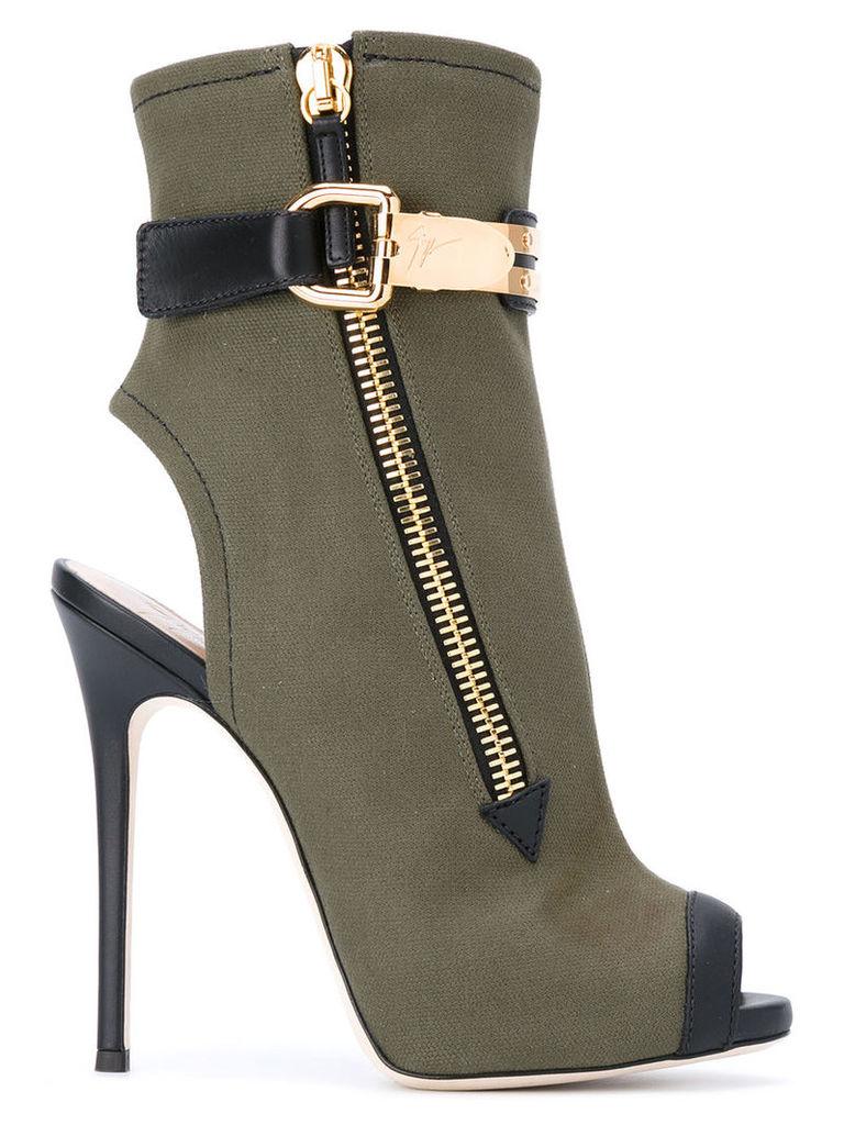 Giuseppe Zanotti Design 'Roxie' boots, Women's, Size: 38, Green