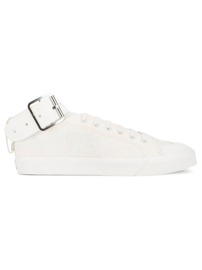 Adidas By Raf Simons Spirit Buckle sneakers, Adult Unisex, Size: 9, Nude/Neutrals