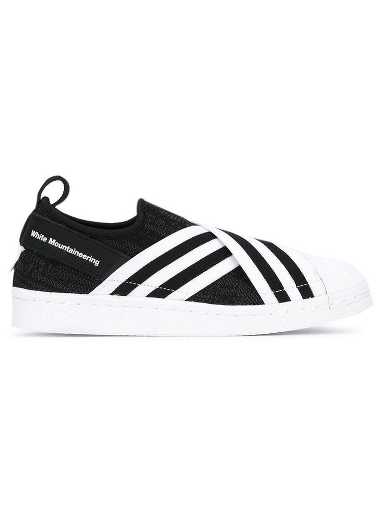 Adidas Originals 'Mountaineering Superstar' slip on sneakers, Women's, Size: 7.5, Black