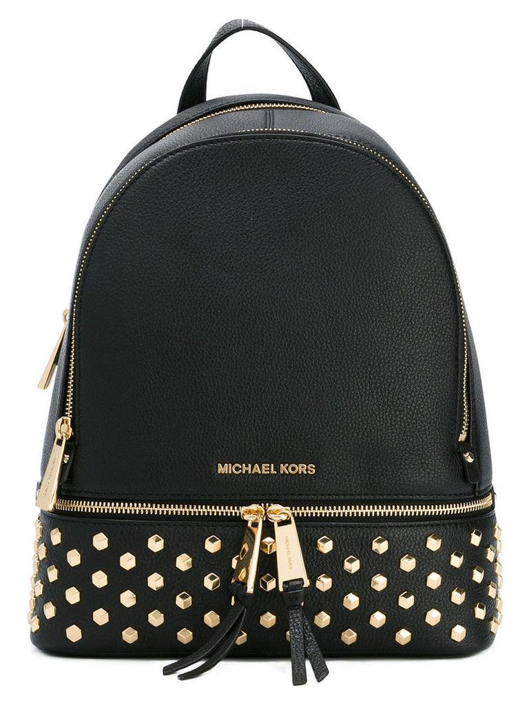 Michael Michael Kors embellished backpack, Black