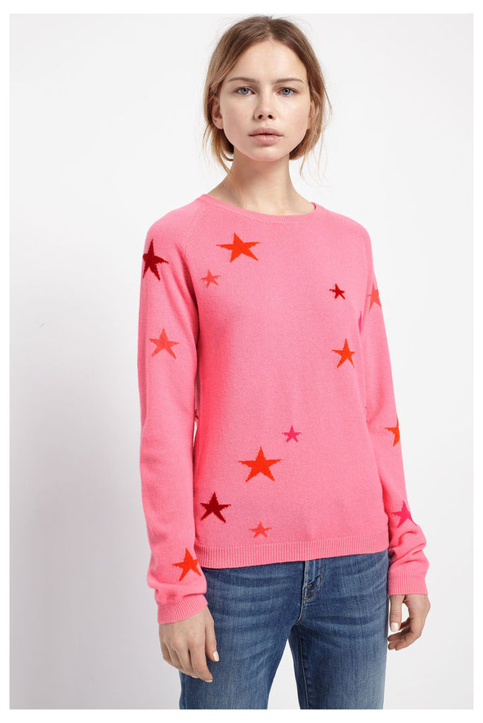 Star Pink Cashmere Sweater