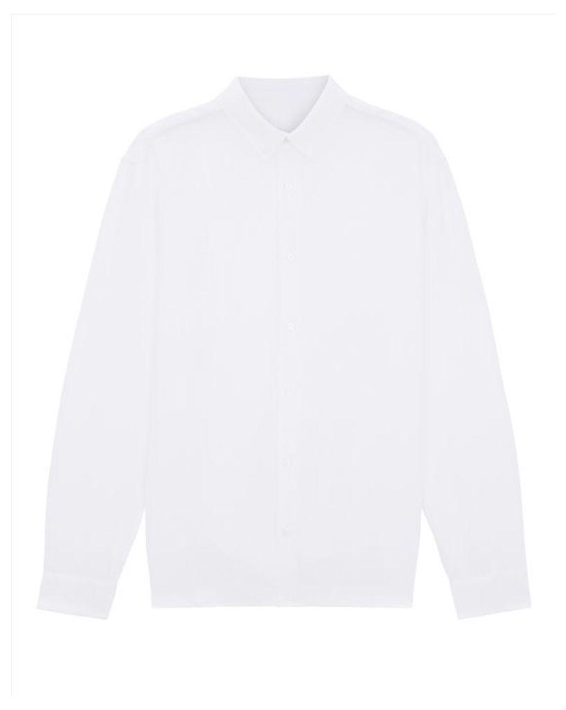 Linen Button-Down Collar Shirt