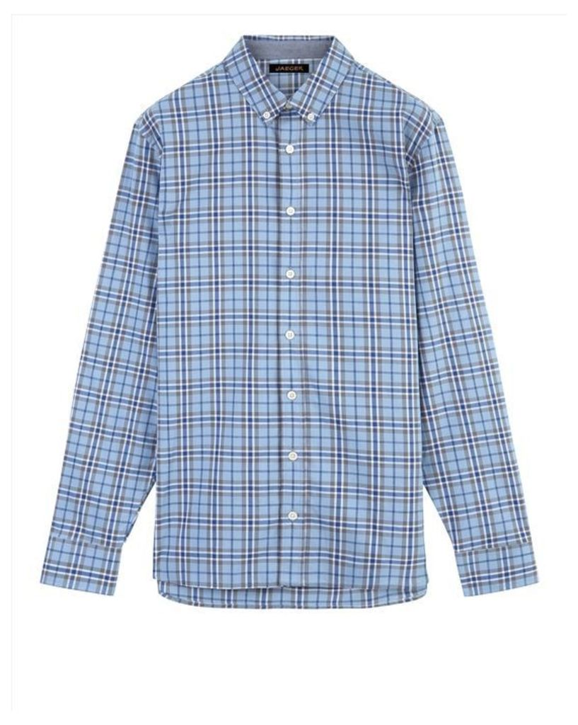 Overpane Check Shirt