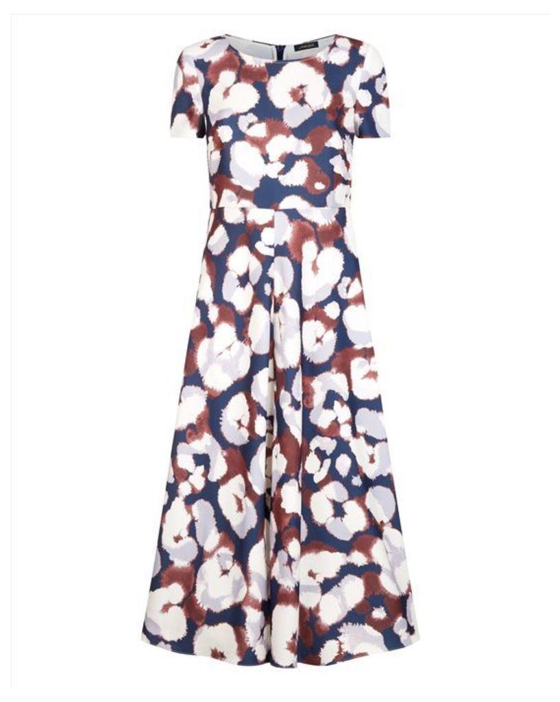 Leopard Ink Print Dress