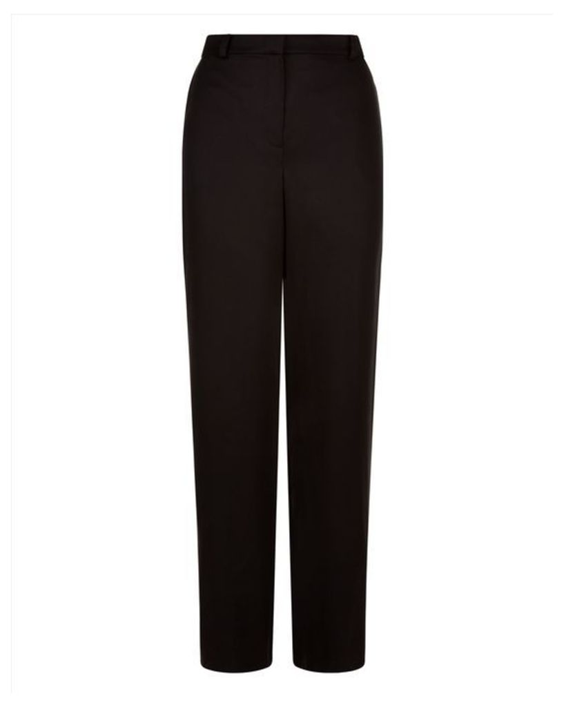 Slouchy Stitch Detail Trousers