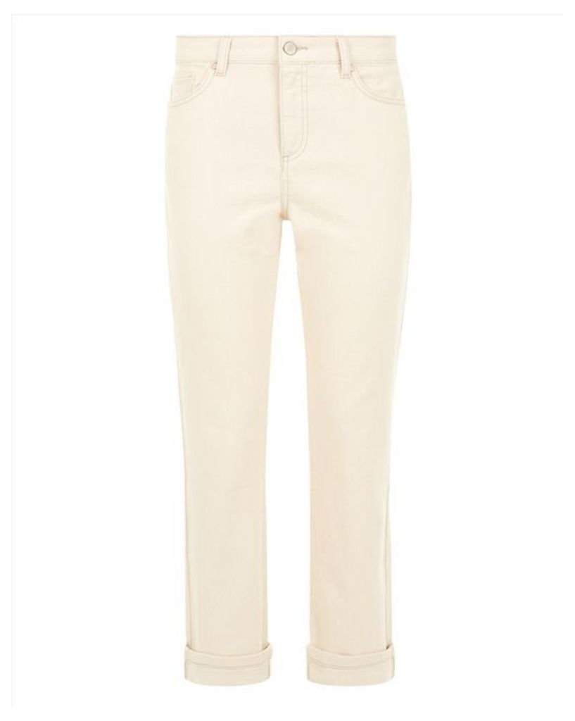 Turn Up Straight-Leg Jeans