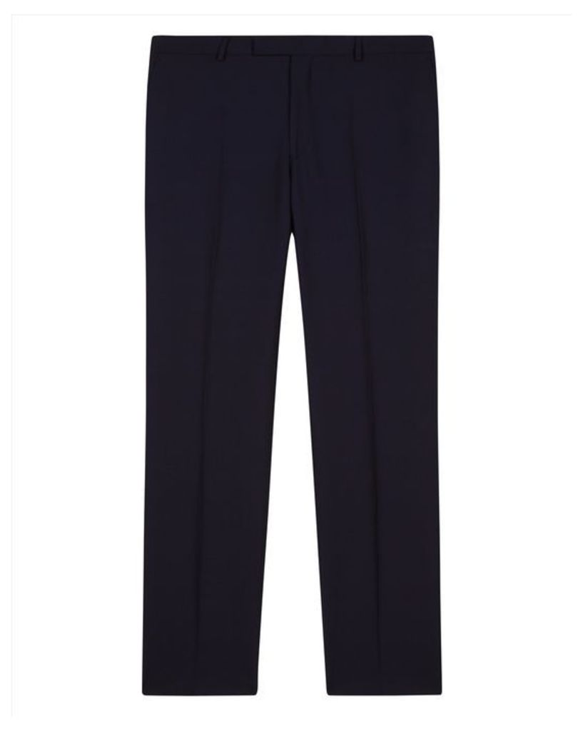 Wool Shadow Check Trousers