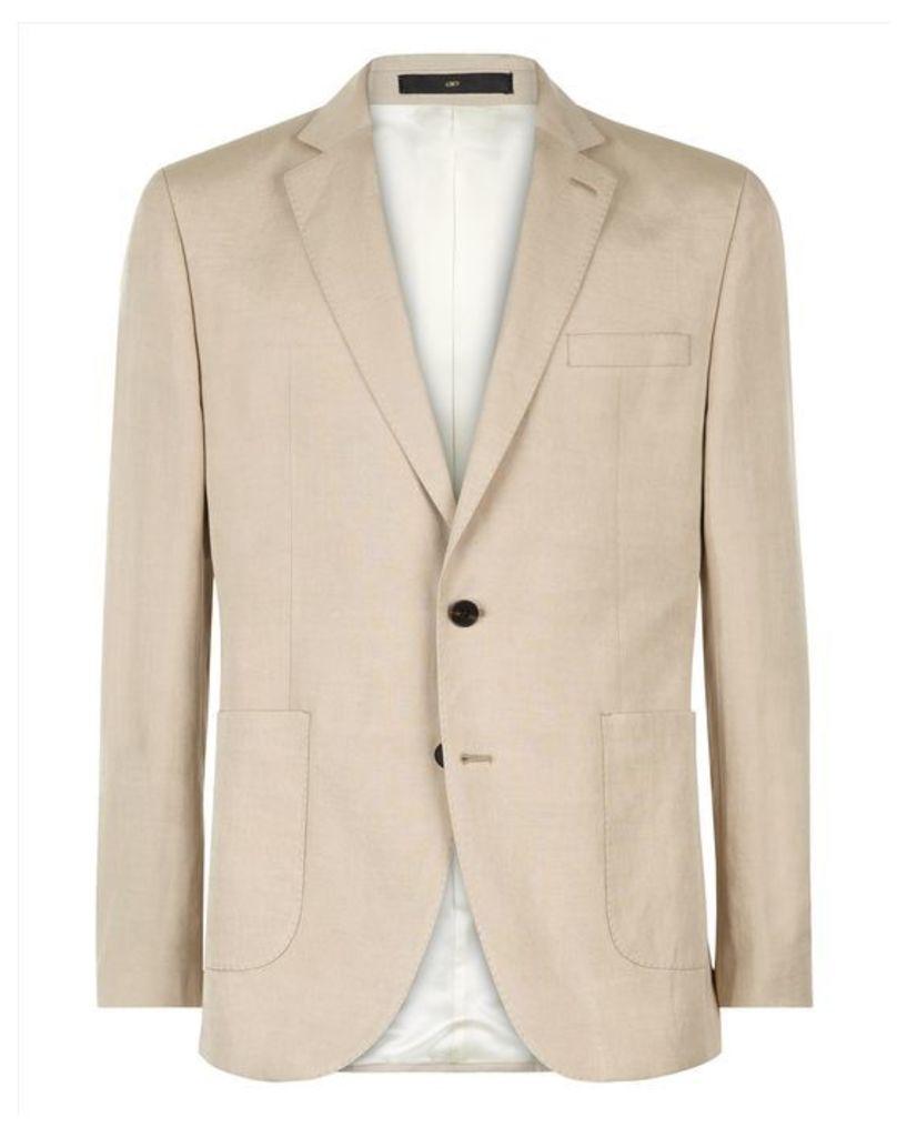 Silk Linen Regular Jacket