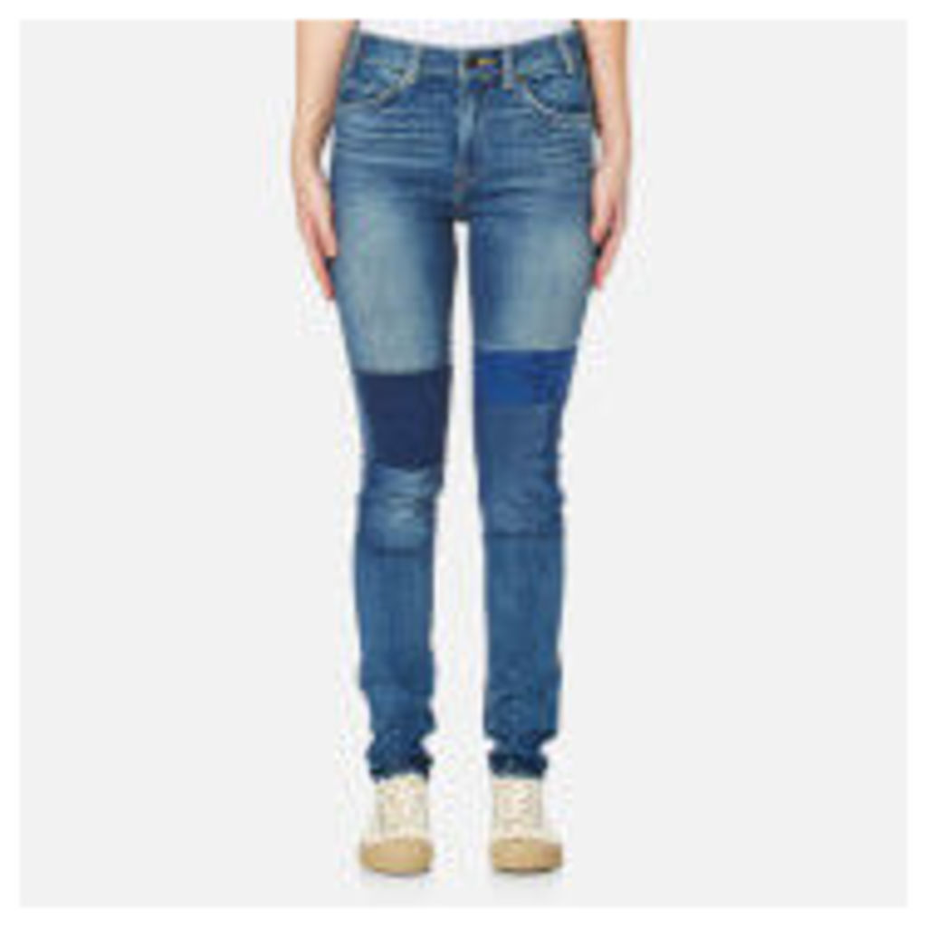 Levi's Women's Orange Tab 721 Vintage High Skinny Jeans - Courage Blue - W28/L32