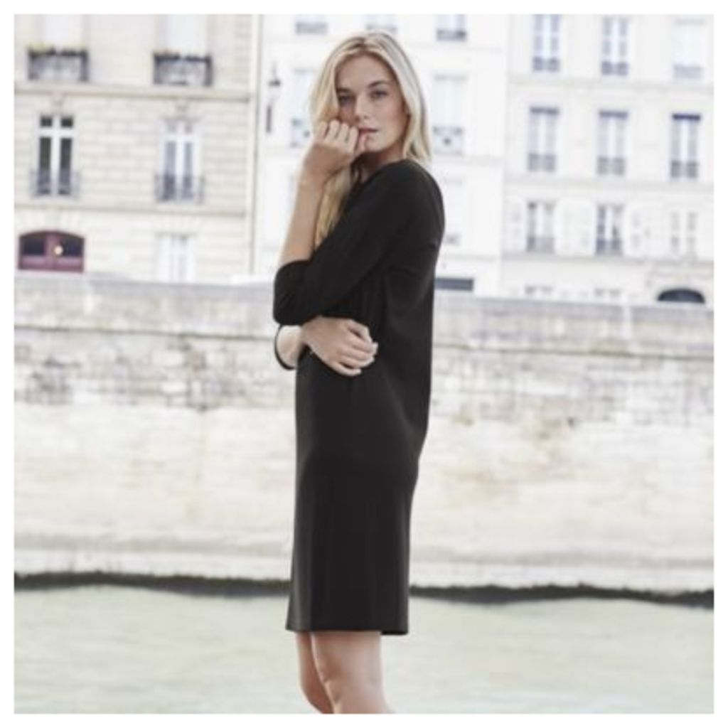 Ponte V Back Dress