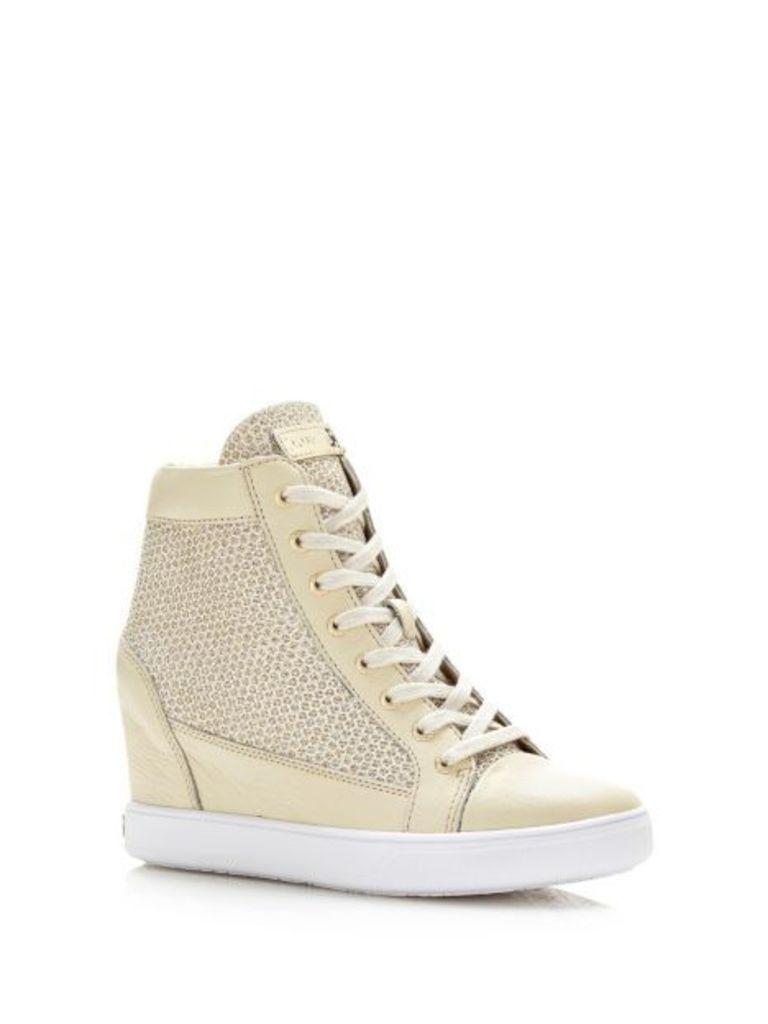 Guess Furia Glitter Wedge Sneaker