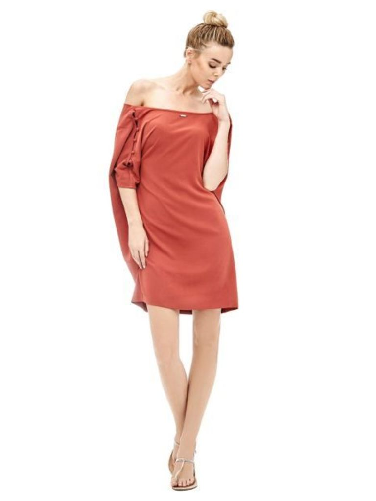 Guess Dress With Openings On Sleeve