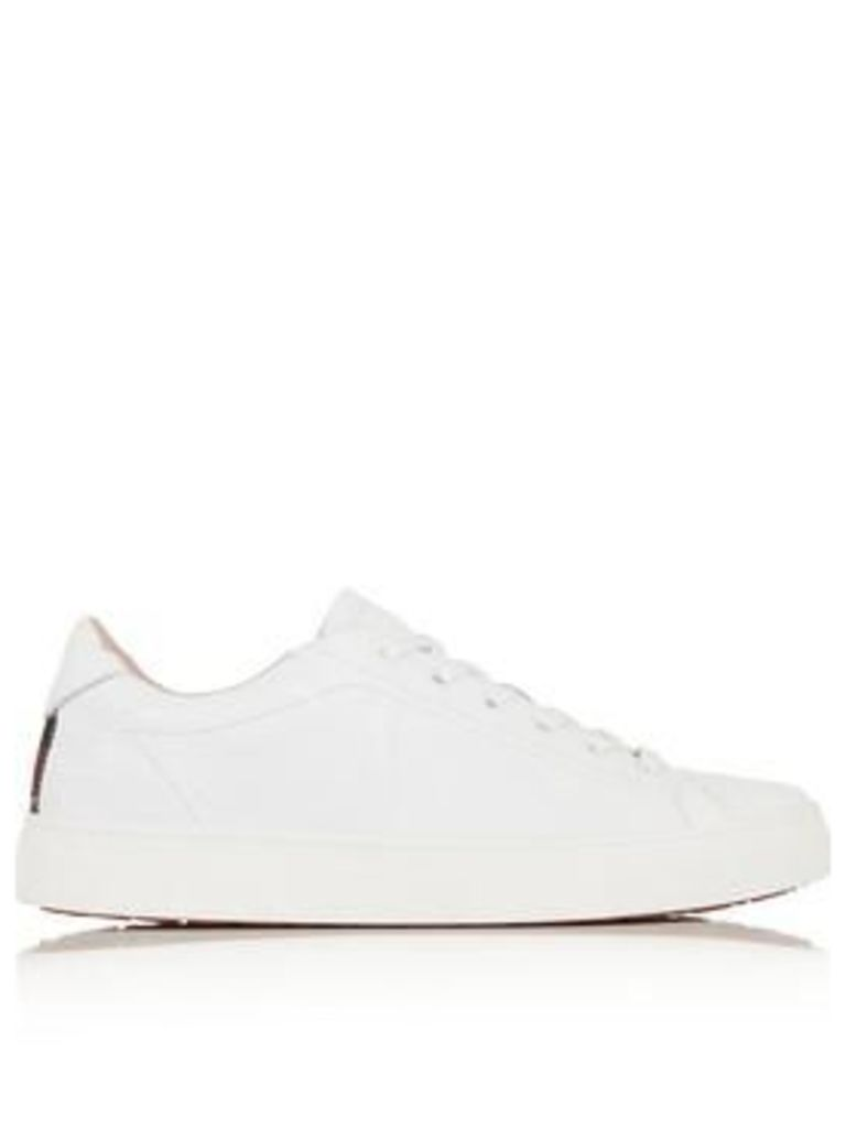 Vivienne Westwood Derby Embossed Squiggle Trainers - White