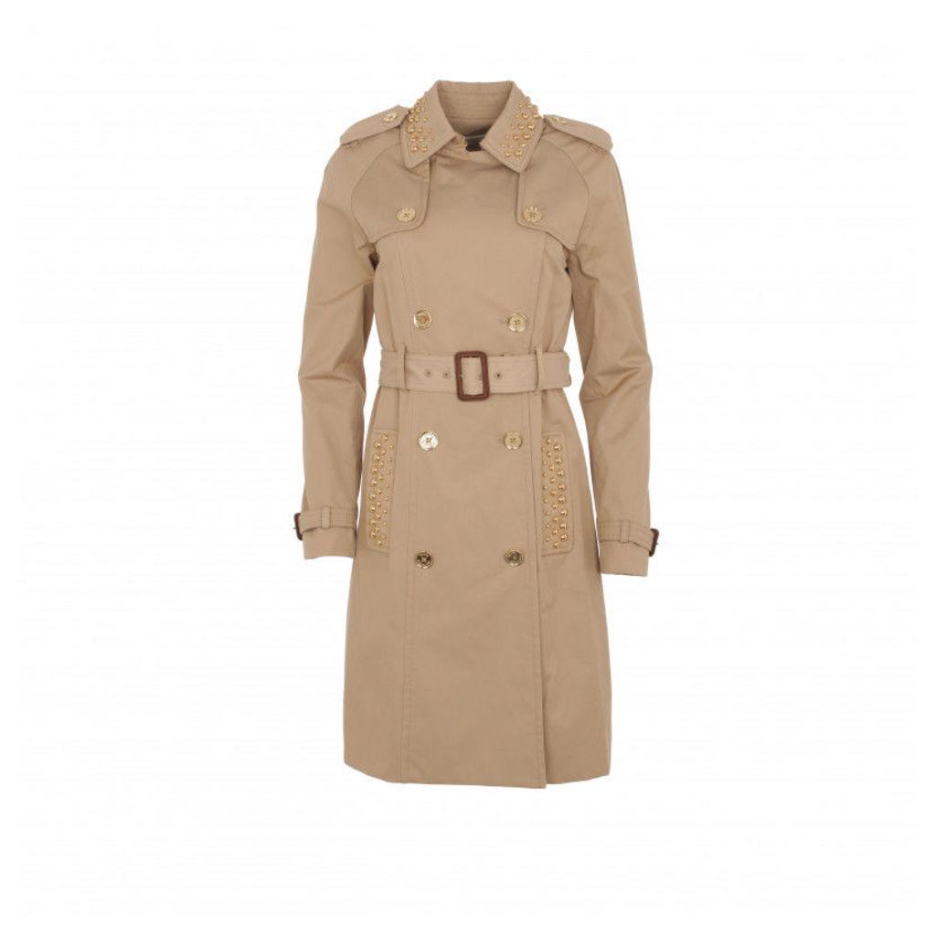 Michael Kors Coats - Trench Coat Khaki - in beige - Coats for ladies