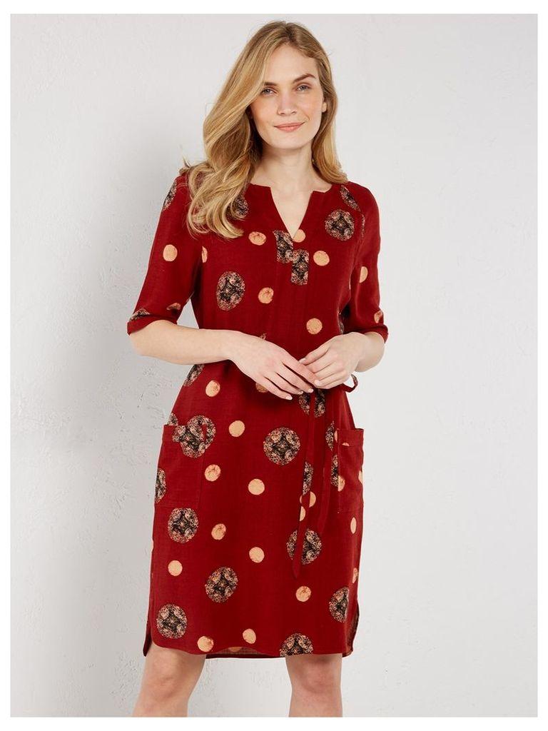 OLIVE SPOT DRESS