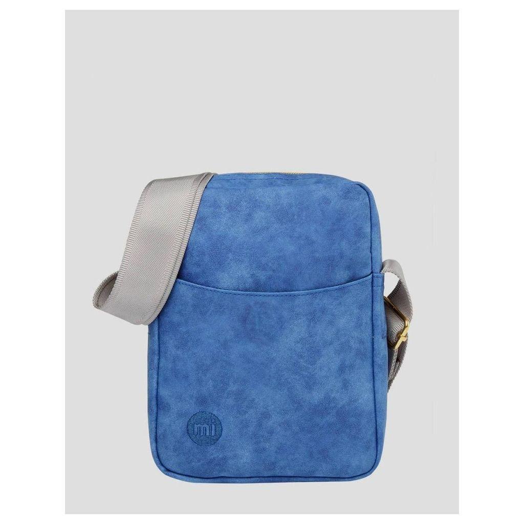 Mi-Pac Nubuck Flight Bag - Royal Blue (One Size Only)