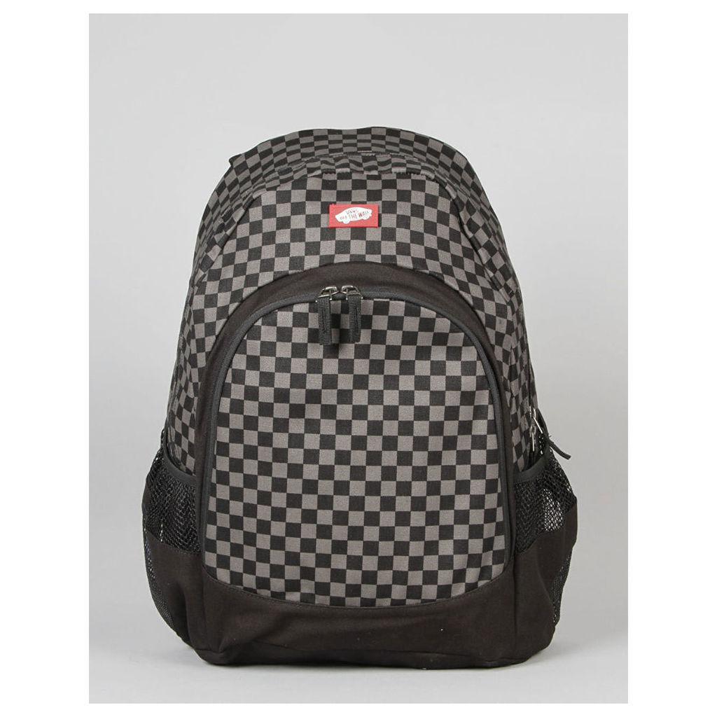 Vans Van Doren Backpack - Black/Charcoal (One Size Only)