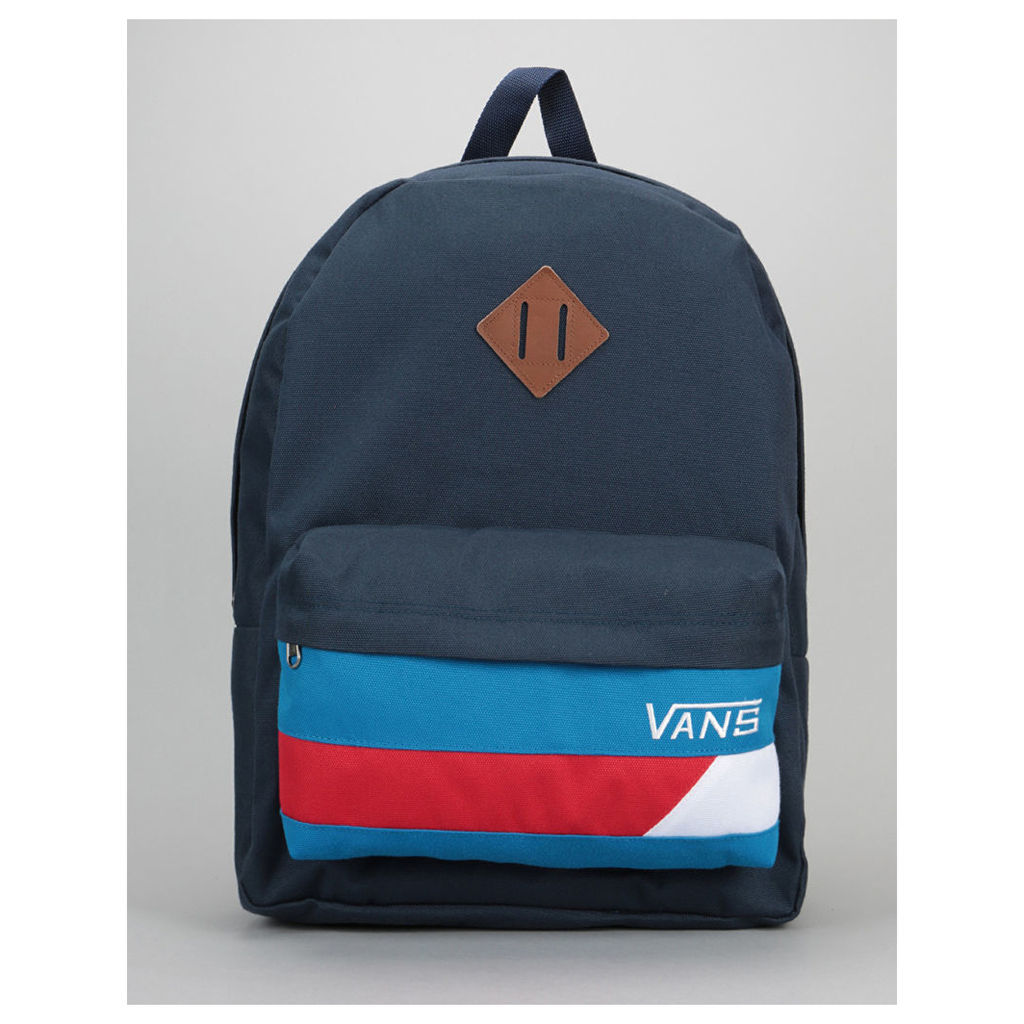 Vans Old Skool II Backpack - Dress Blue/Rcacing Red (One Size Only)