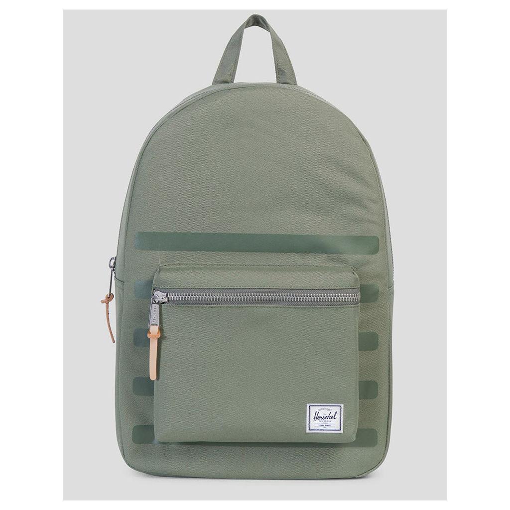 Herschel Supply Co. Settlement Backpack - Deep Lichen Green Stripe (One Size Only)