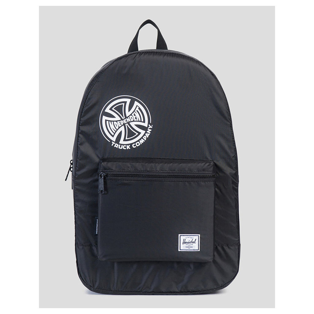 Herschel Supply Co. x Independent Trucks Packable Daypack - Black (One Size Only)