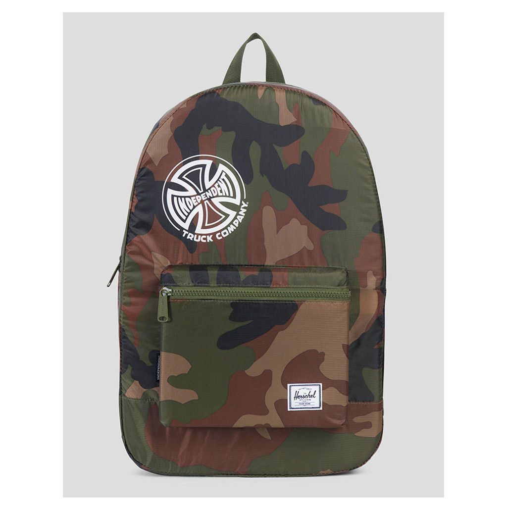 Herschel Supply Co. x Independent Trucks Packable Daypack - Camo (One Size Only)