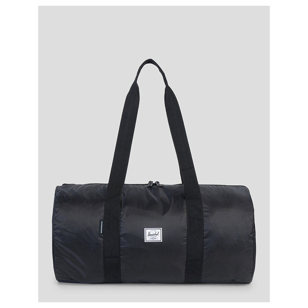 Herschel Supply Co. x Independent Trucks Packable Duffle Bag - Black (One Size Only)