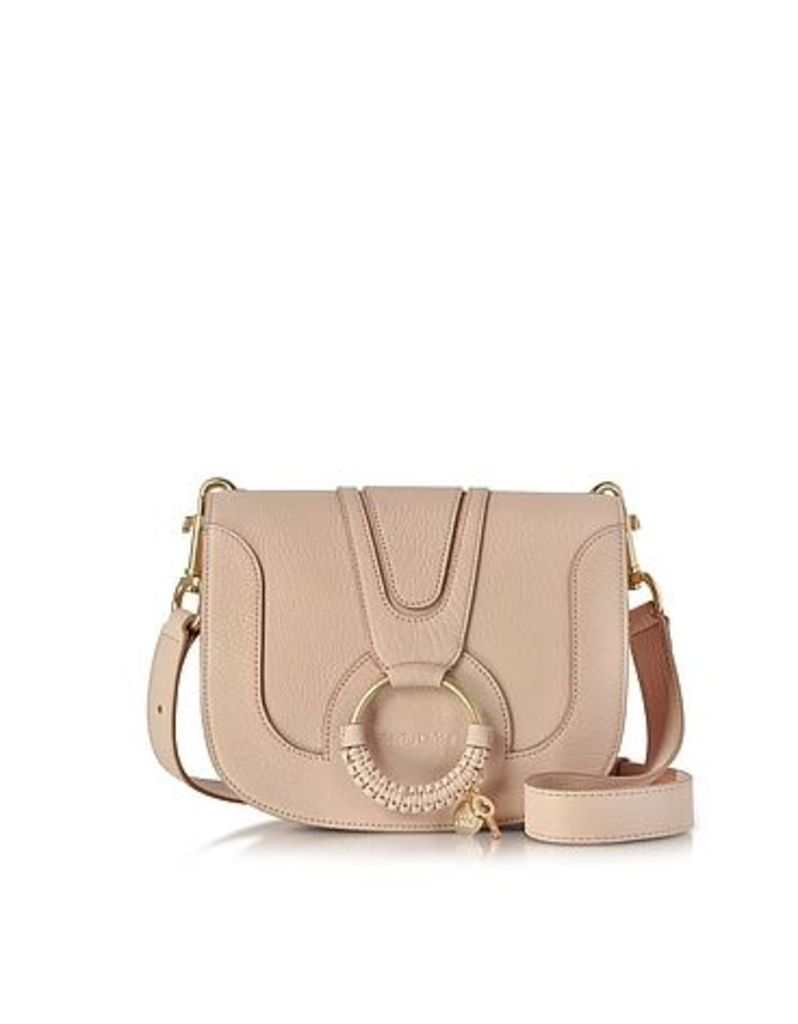 See by Chlo - Hana Powder Pink Leather Crossbody Bag