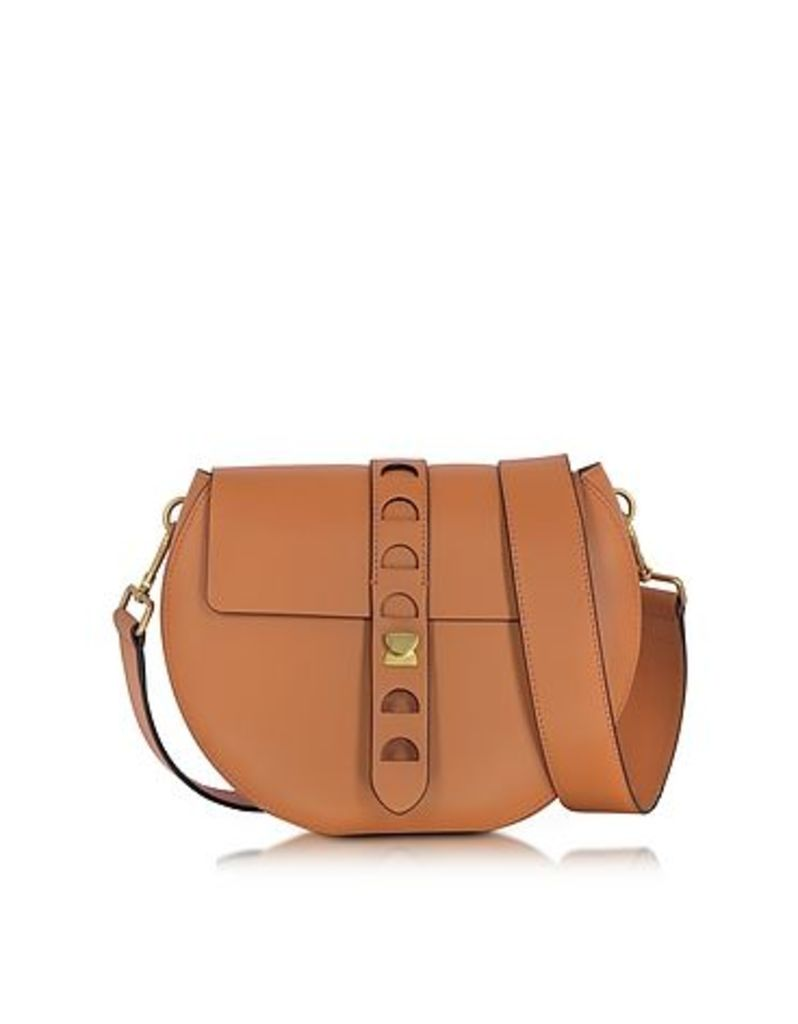 Coccinelle - Carousel Large Cuoio Leather Crossbody Bag