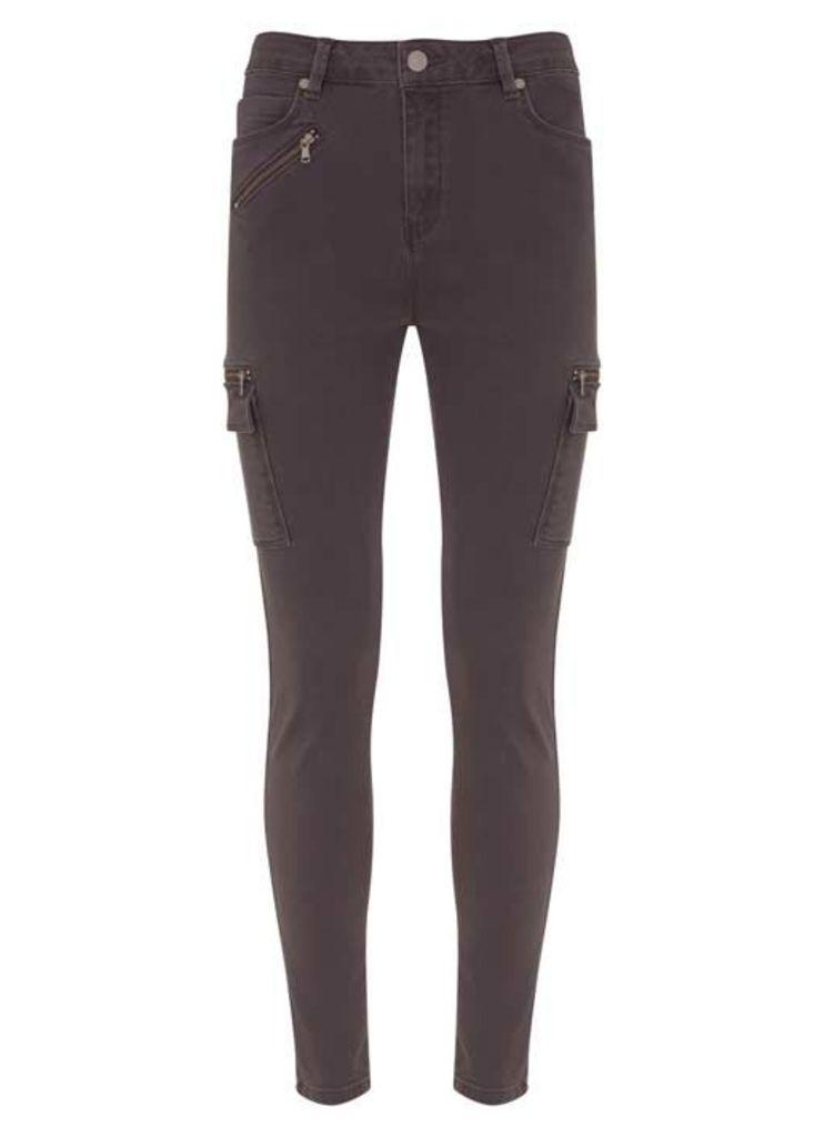 Indiana Grey Cargo Jean