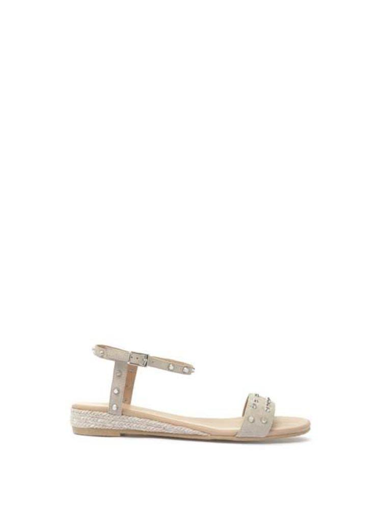 Stone Nadia Stud Strap Sandal
