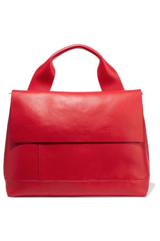 Marni - Halo Pod Leather Tote - Red