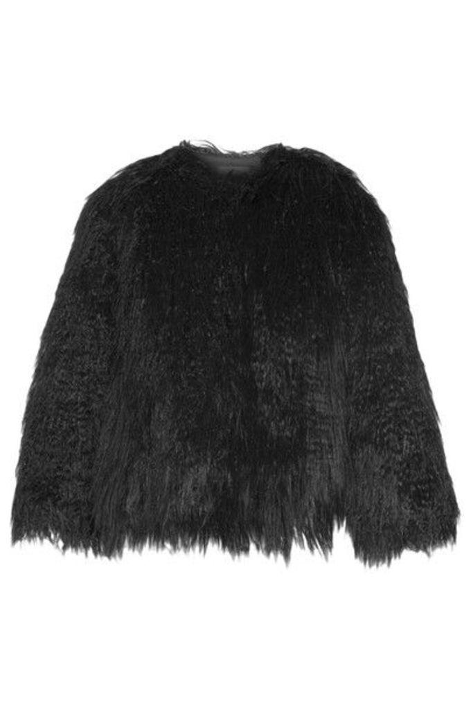 Theory - Elstana Faux Shearling Jacket - Black
