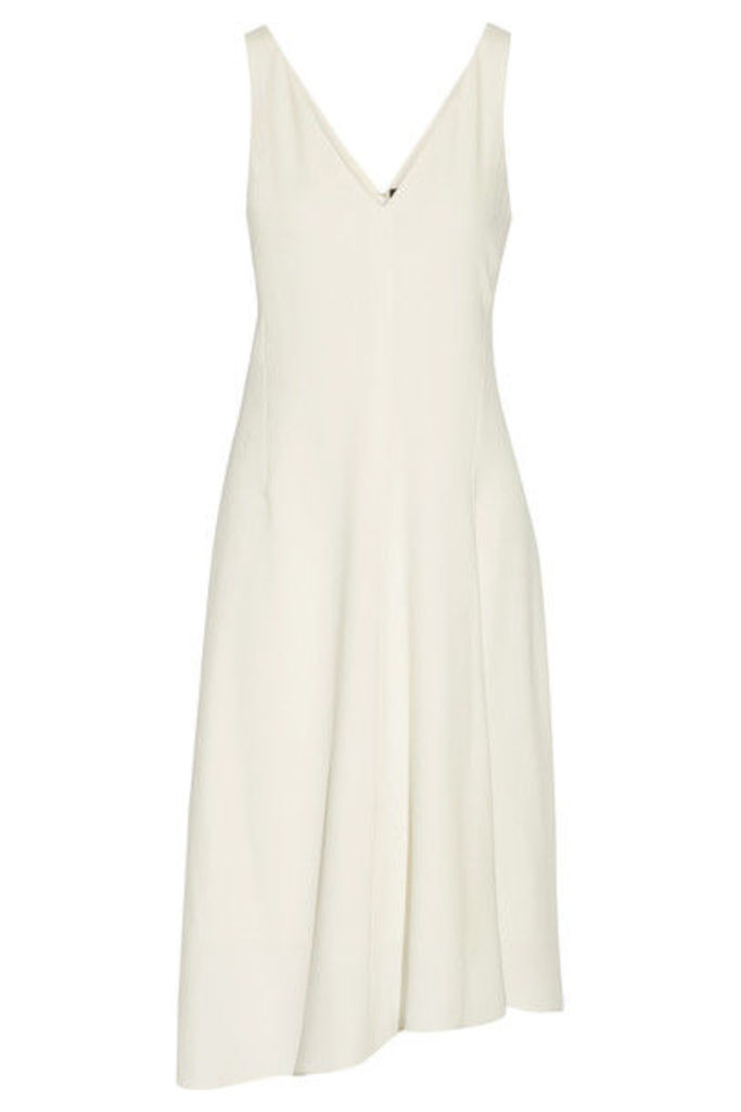 Theory - Asymmetric Crepe Dress - Cream