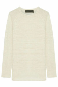 The Elder Statesman - Flaco Cashmere Sweater - Cream