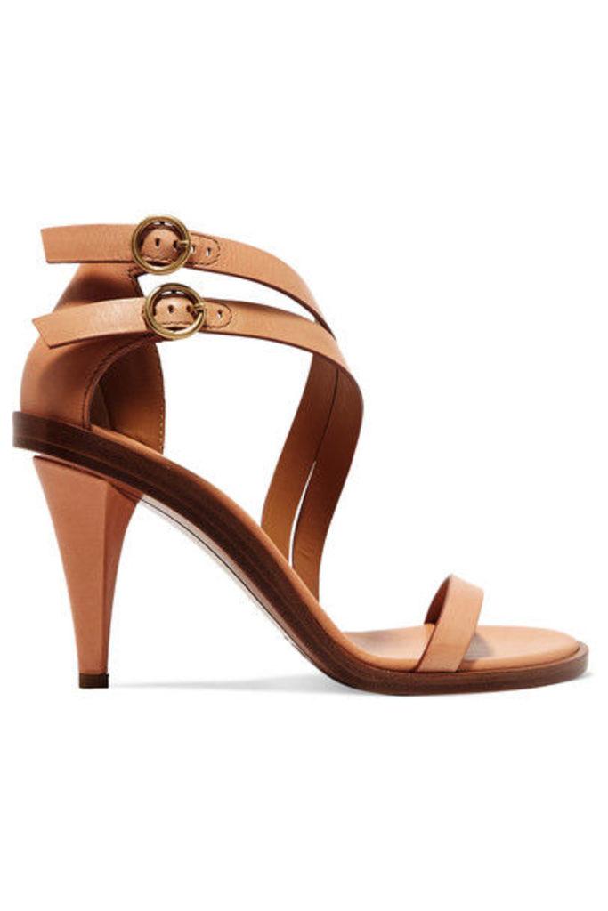 Chloé - Leather Sandals - Tan