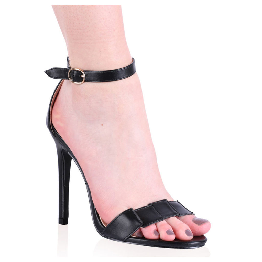 Wren Barely There High Heels, Black
