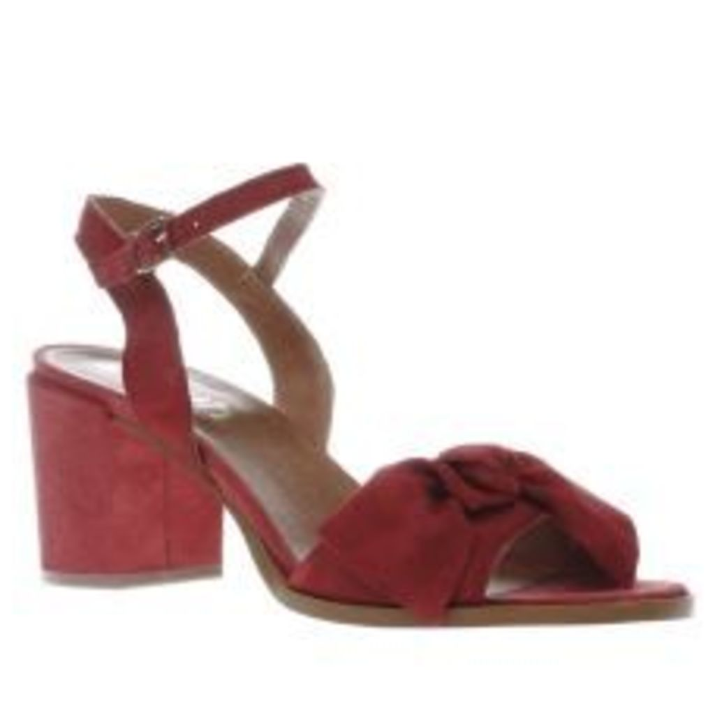 Schuh Red Glow Womens Low Heels