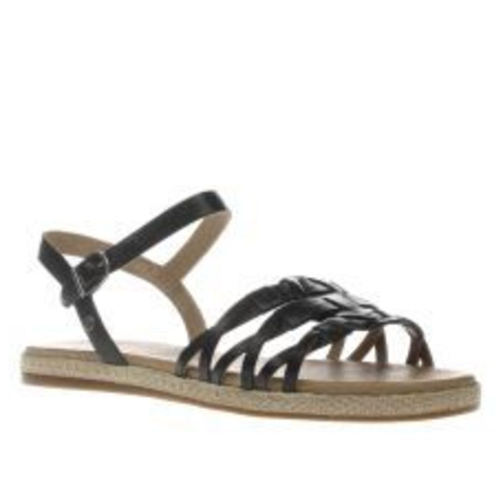 Ugg Australia Black Larisa Womens Sandals
