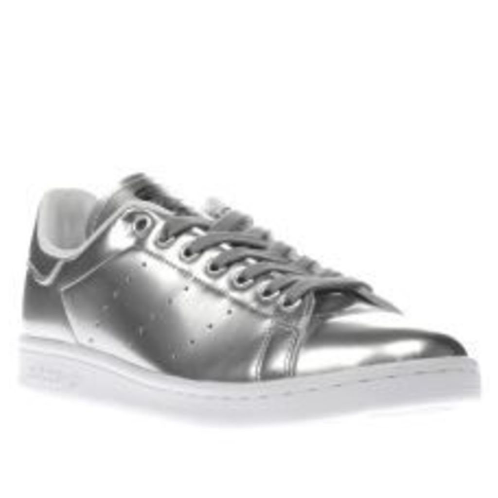 Adidas Silver Stan Smith Womens Trainers