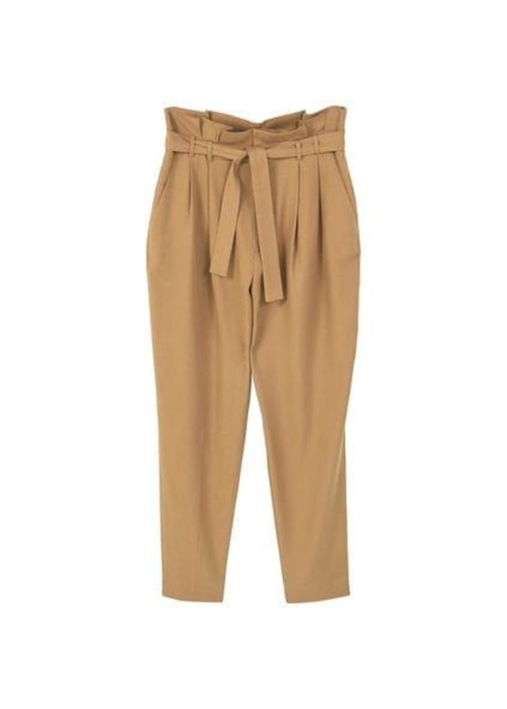 Soft fabric cord trousers