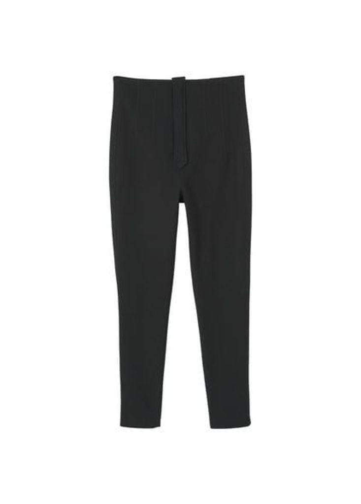 High waist cotton legging