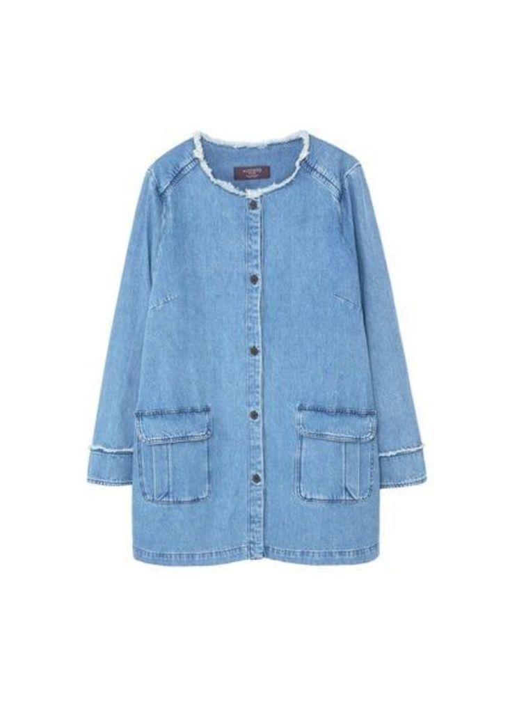 Pocket denim jacket