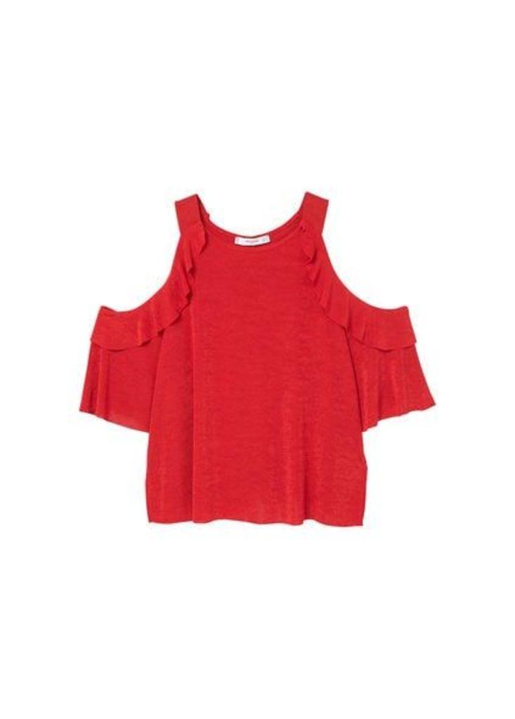 Off shoulders t-shirt